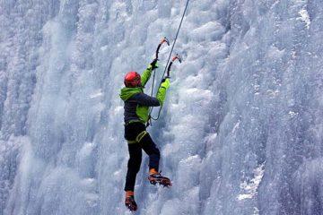 Curso de escalada en hielo en Noruega