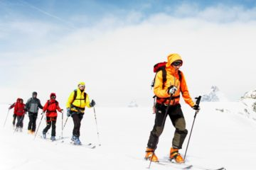 Curso de esquí de travesía en Madrid