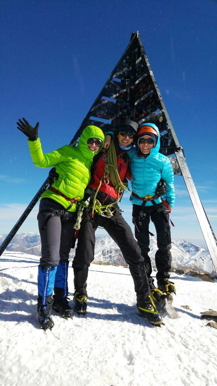 Ascensión al Toubkal en invierno