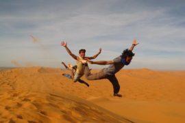 Excursion en el desierto de Marrakech