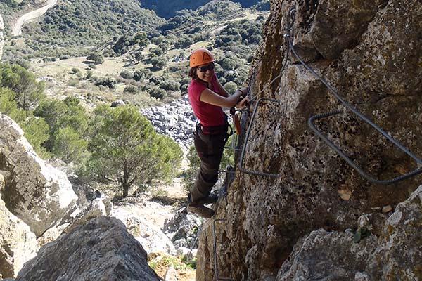 Vías ferratas y senderismo en Andalucía