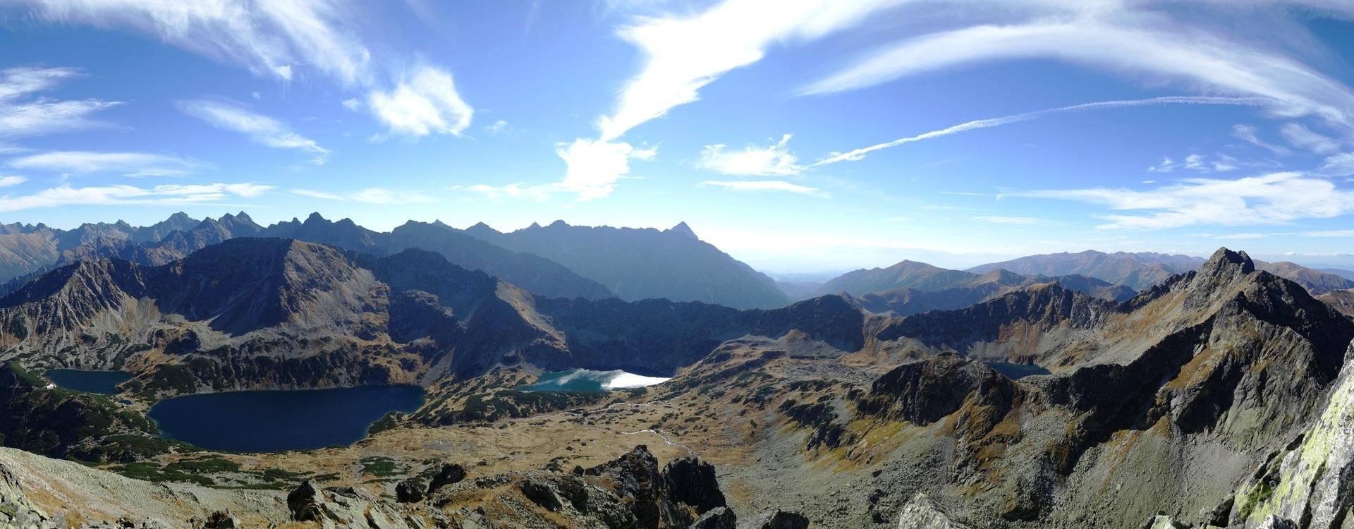 Trekking por montes Tatras. Polonia y Eslovaquia