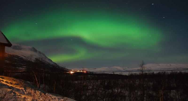 ver aurora boreal suecia con nanuk experience